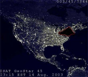 Blackout at Northeast America August 14, 2003