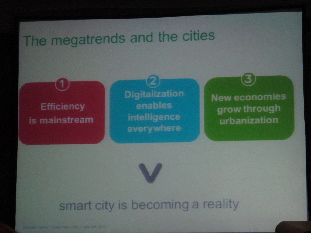 Megatrends and the cities