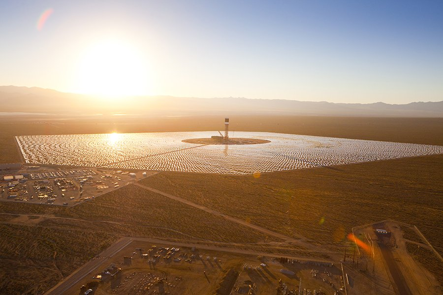 Ivanpah Solar Thermal